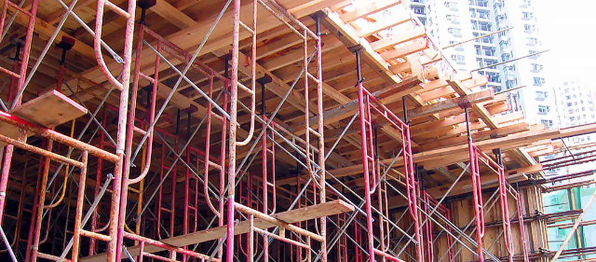 Toyo framework and its components are most commonly found for construction of formwork and shoring support.